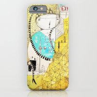 iPhone & iPod Case featuring Making downtown  by Nayoun Kim