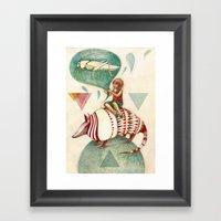 Armadillo's Dream Framed Art Print