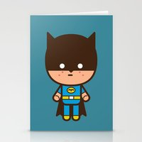 #51 The Bat man Stationery Cards