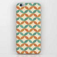 Midcentury Pattern 01 iPhone & iPod Skin