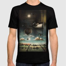 Above, Below, & Beyond Mens Fitted Tee Black SMALL