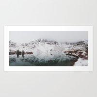 Anderson Lake Art Print