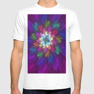 T-shirt featuring Psychedelic Flower by Gabiw Art