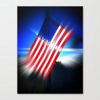 American Diamond Canvas Print