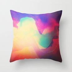 Glitch 13 Throw Pillow