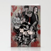 pulp fiction Stationery Cards featuring Pulp Fiction by AWAL