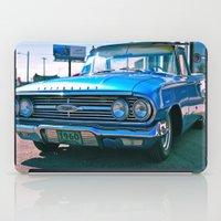 El Camino blue iPad Case
