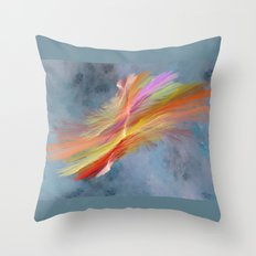 natural in space Throw Pillow