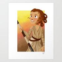 Little Rey Art Print
