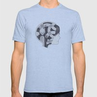 Mad World Mens Fitted Tee Athletic Blue SMALL