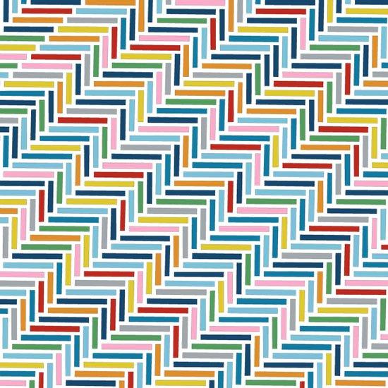 Herringbone 45 Colour Art Print