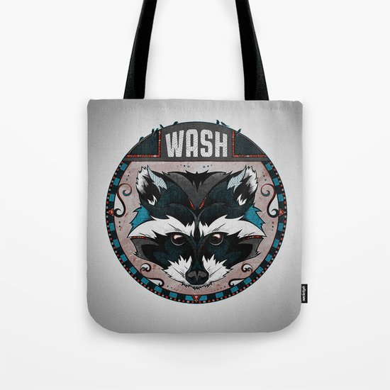 Wash Tote Bag