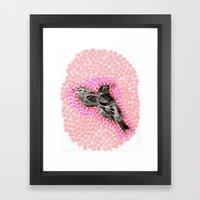 Mother Bird Framed Art Print