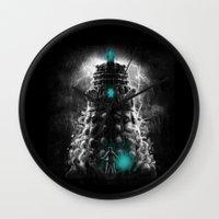 Shadow Of The Dalek Wall Clock