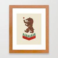 California Sigil Framed Art Print
