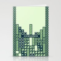tantric tetris. Stationery Cards