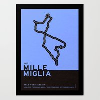 Legendary Races - 1927 Mille Miglia Art Print