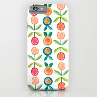 Water colour flowers iPhone 6 Slim Case