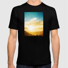 Breaking Over The Horizo… Mens Fitted Tee Black SMALL
