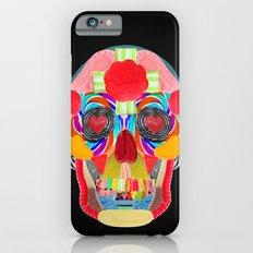 Sweet Sweet Sugar Skull On Black iPhone 6 Slim Case