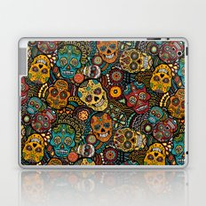 Calavaras - Day of the Dead Skulls Laptop & iPad Skin