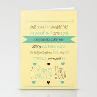 Little Things Stationery Cards