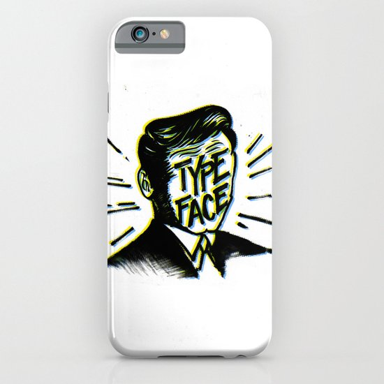 Typeface iPhone & iPod Case