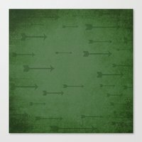 Loxley in Sherwood Forest - Arrows Canvas Print