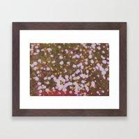 Summer Brings The Flower… Framed Art Print