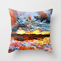 Something is Burning Throw Pillow
