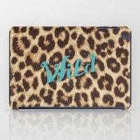 Leopard Print Teal Blue … iPad Case