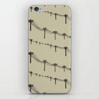 Metal Trees iPhone & iPod Skin