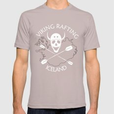 Viking Rafting Iceland Mens Fitted Tee Cinder SMALL