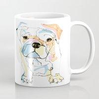 Bulldog Colour Mug