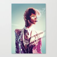 suit cigg Canvas Print