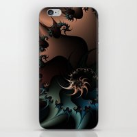 Thorned Rebellion iPhone & iPod Skin