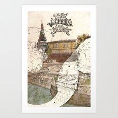Moscow I Art Print