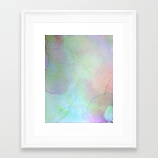 Color Field/Washes II Framed Art Print
