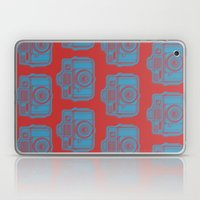 I Still Shoot Film Holga Logo - Red & Blue Laptop & iPad Skin