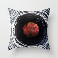 Farm Art Wire Macro Abst… Throw Pillow