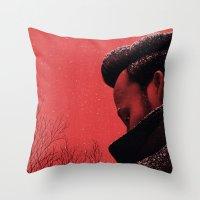 Byronic III Throw Pillow