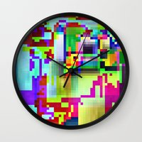 port13x10a Wall Clock