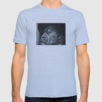 shadow part2 Mens Fitted Tee Athletic Blue SMALL