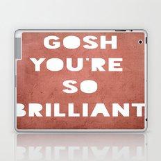 Gosh (Brilliant) Laptop & iPad Skin