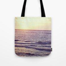 Sunrise Over Ocean Tote Bag