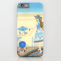 Family Vacation At The B… iPhone 6 Slim Case