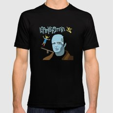 Young Frankenstein Mens Fitted Tee Black SMALL