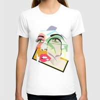 Anyone Womens Fitted Tee White SMALL