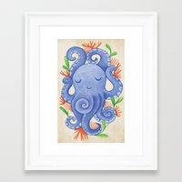 Ladypus Framed Art Print