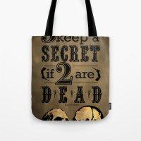 Benjamin Franklin Illustrated Quote Tote Bag